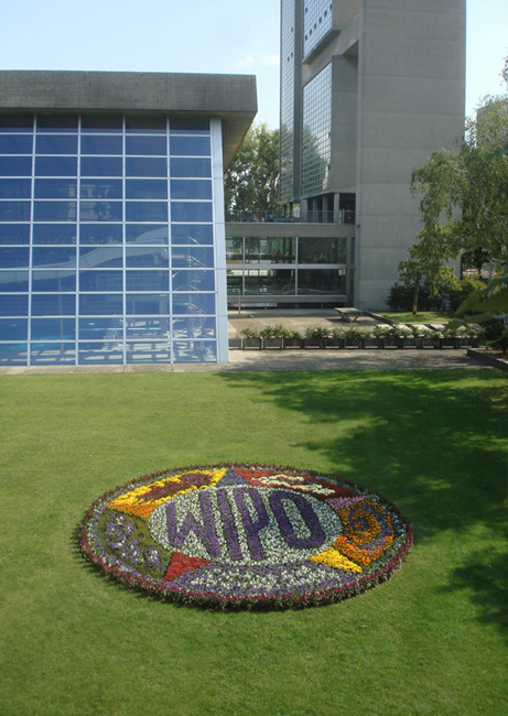 Untitled (World Intellectual Property Organization) 2009 Flowers 22 feet in diameter