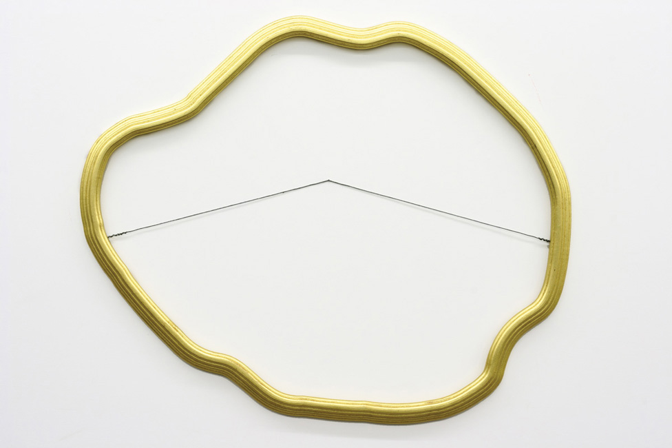 Untitled (Surrealist Frame)  2007  Gilded frame  Dimensions variable