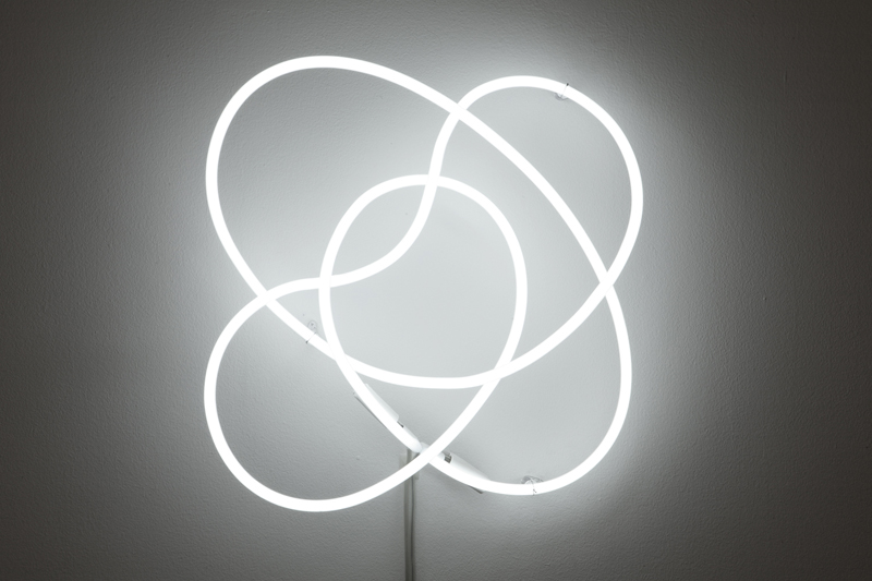 Untitled (Neon Knot), 2010